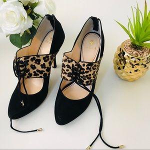 Isola Cheetah Heels Size 9.5